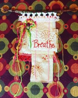 Breathe prayer flag