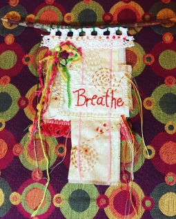 Breathe prayer flag